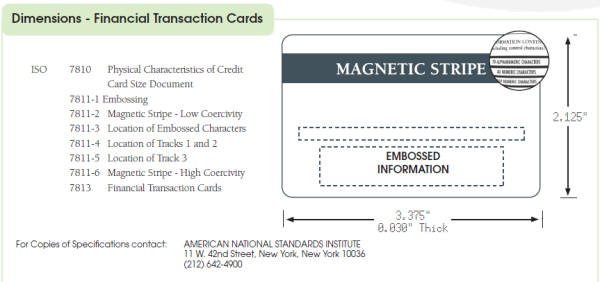 Magnetic-Stripe-Standars